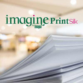 IMAGINE PRINT SILK, couché traces de bois demi-mat, 80g, 72x102, PEFC™, paq. 500f