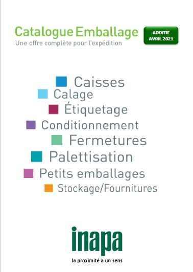 Catalogue Additif Emballage 2021