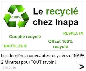 Le recyclé chez Inapa !